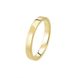 Bague La Contemporaine en or jaune 18k 2,5mm