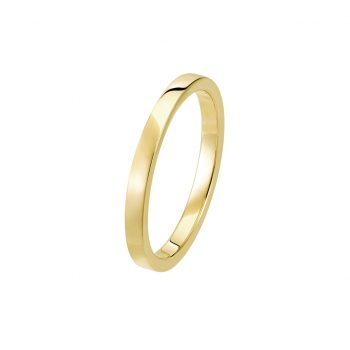 Bague La Contemporaine en or jaune 18k 2mm