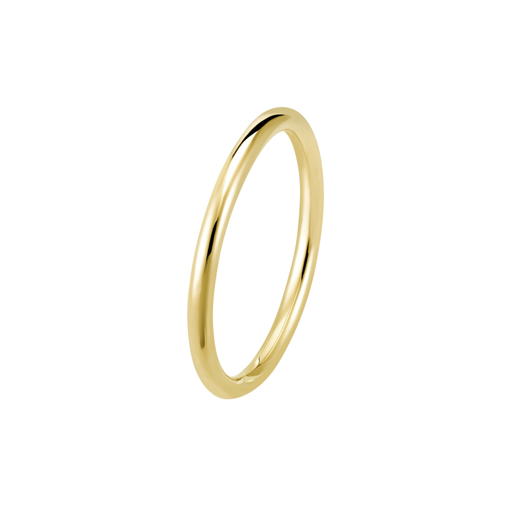 Bague La Jeanette en or jaune 18k 1,5mm