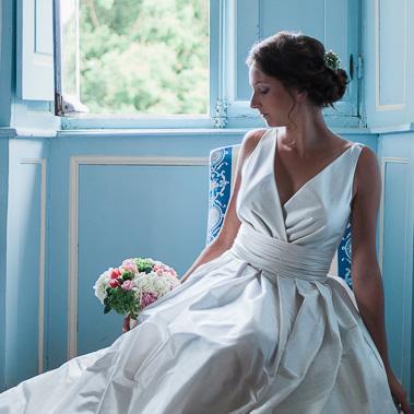 Robe de mariée par Tara Deva