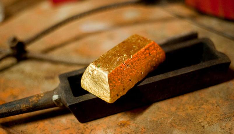 Lingot d'or recyclé et éthique