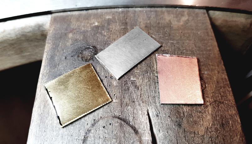 Les couleurs de l'or 18k