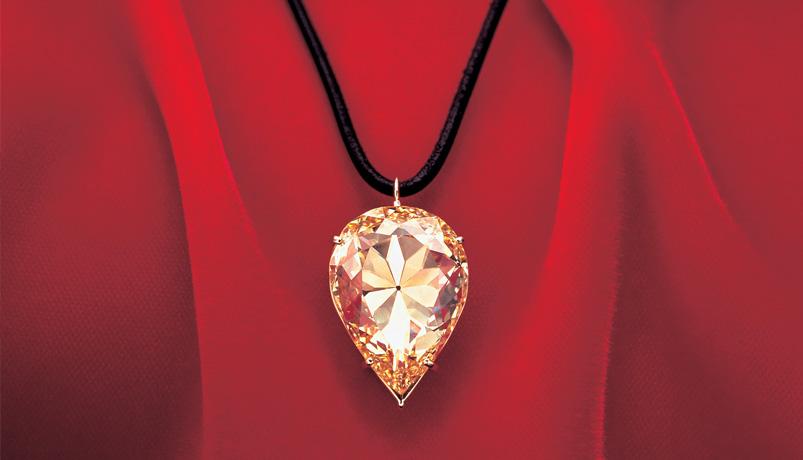 Diamant jaune Moon of Baroda