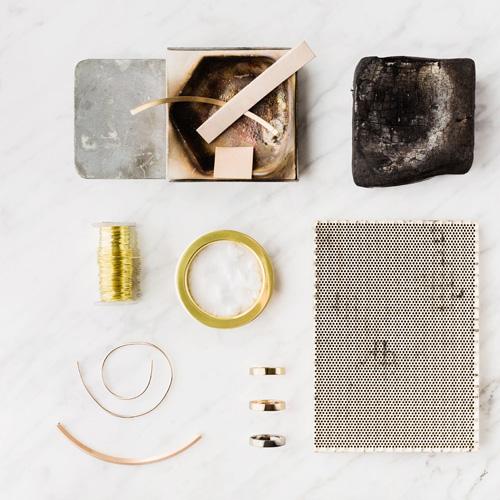 Or recyclé 18k pour la fabrication de bijoux